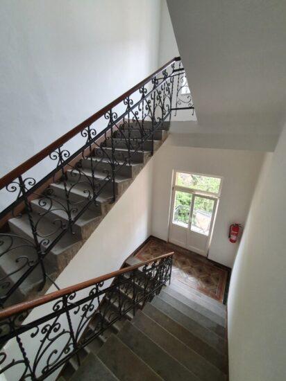Výmalba schodiště historického bytového domu